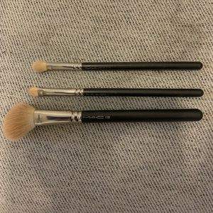 3 M.A.C. Brushes